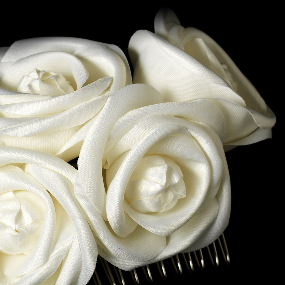 Charming Flower Bridal Hair Comb