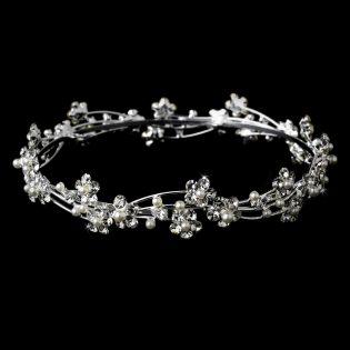 Pearl bridal headpieces