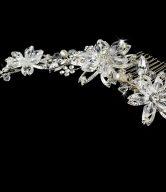 Floral Bridal Combs