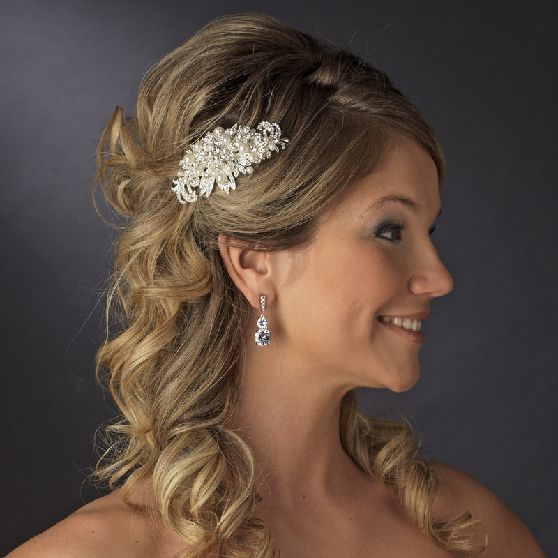 Crystals And Pearls A Match Made In Bridal Heaven