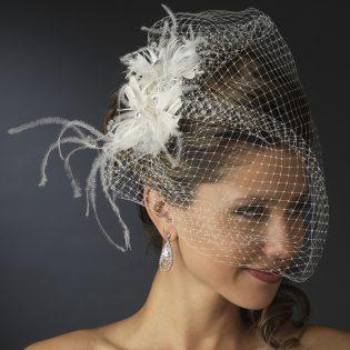 Bridal veil comb