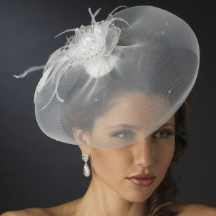 Wedding hat veil