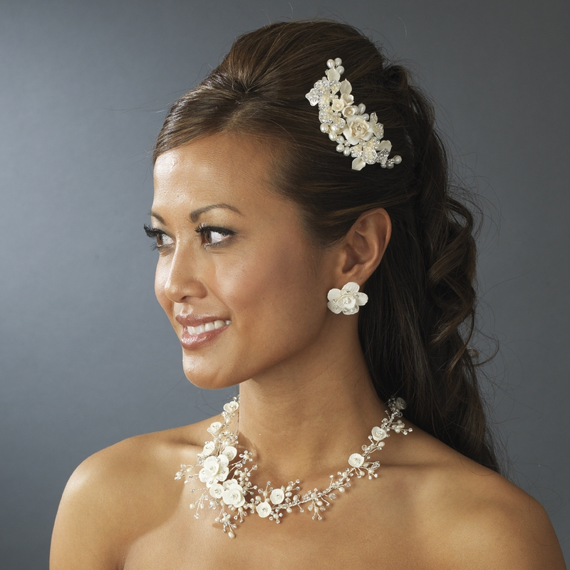 Bridal tiara Combs