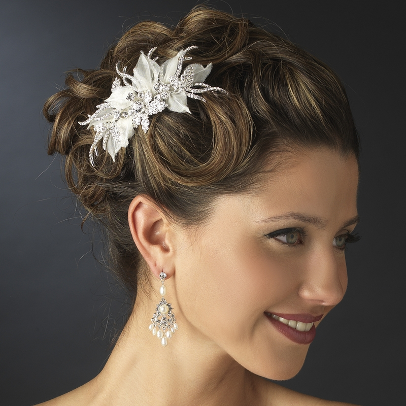 Wedding Hairstyles With Hair Jewelry: Elegant Bridal Hair Accessories