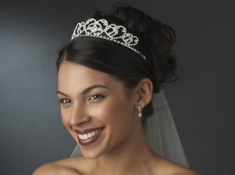 Silver-Plated Bridal Headband