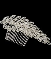 Silver Wedding Combs