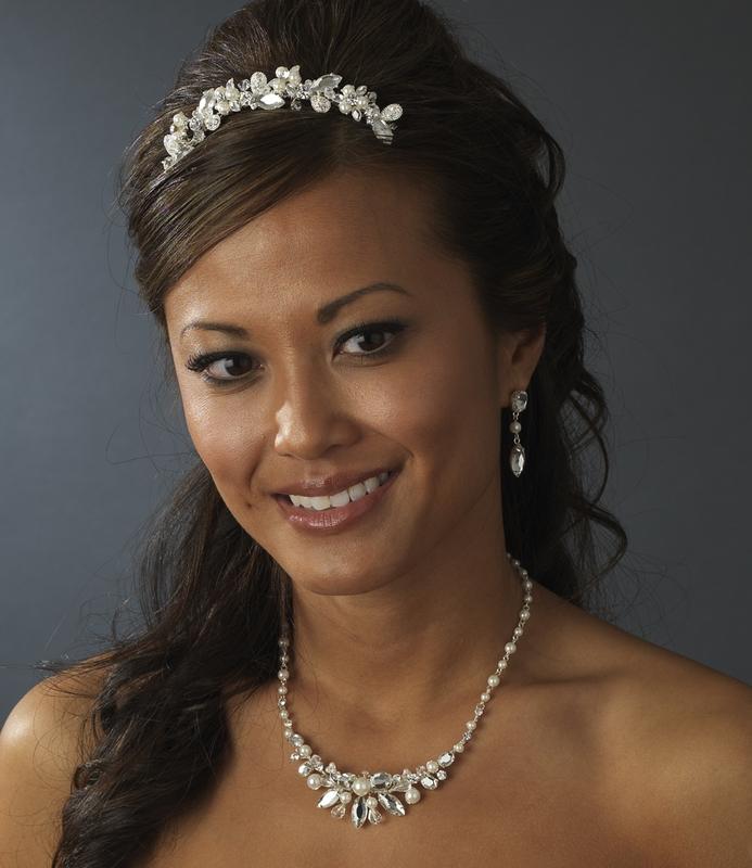 Bridal Tiara Combs