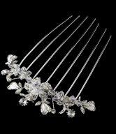 Alluring Crystal Bridal Comb