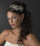 Pearl Side-Accented Headpieces
