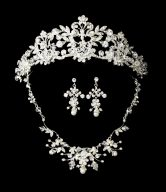 Wedding Tiara and Jewelry Set