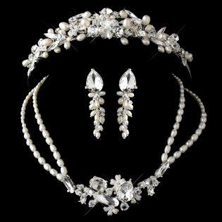 Matching Tiara and Jewelry
