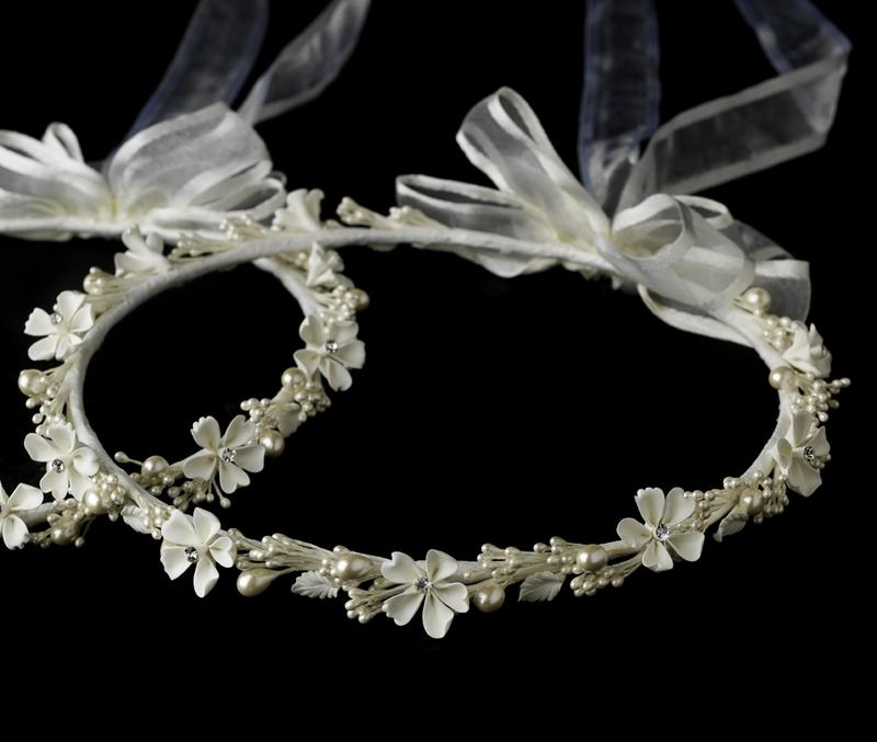 Delightful flower crystal greek stefana crowns elegant bridal delightful flower crystal greek stefana crowns junglespirit Gallery