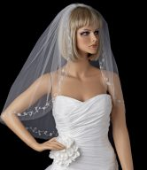 Silver Wedding Veils