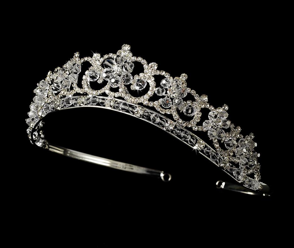 Exquisite Floral Bridal Tiara