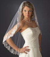 Mantilla Style Bridal Veil