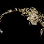 Swarovski bridal comb