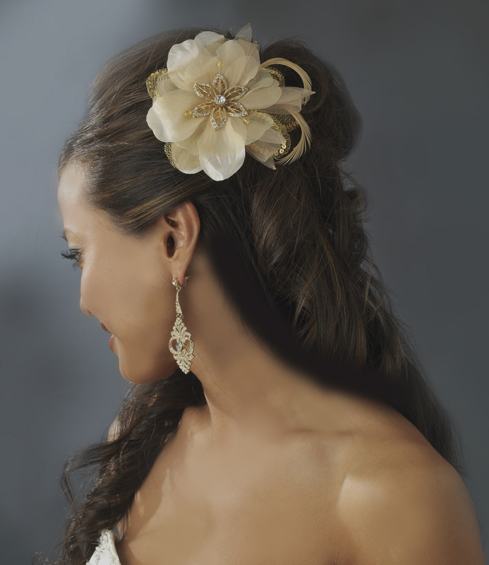 Fall Wedding Hair Accessories