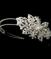 Marvelous Pearl & Crystal Headpiece