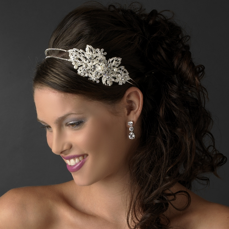 Pearl Headpieces For Brides: Marvelous Pearl & Crystal Headpiece