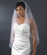 Floral Bridal Veil