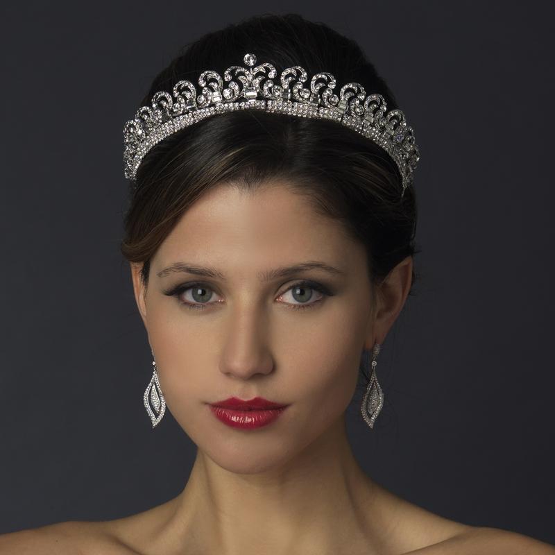 RoyalPrincessKateInspiredHaloTiara4 - Princess Catherine Wedding Dress