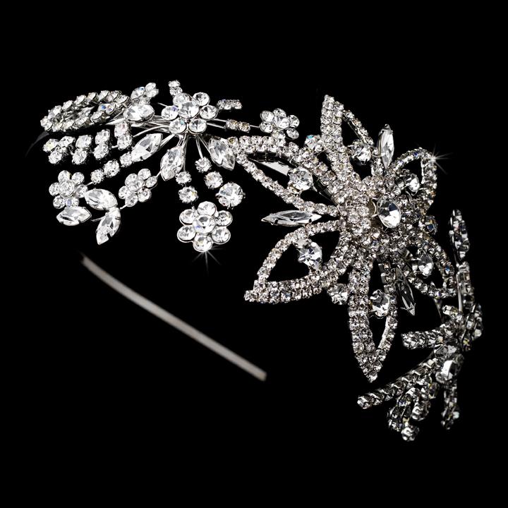 e4b77b4b3baf Stunning Swarovski Crystal Headband - Elegant Bridal Hair Accessories