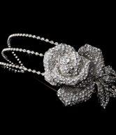 Vintage Rose Flower Bridal Headband
