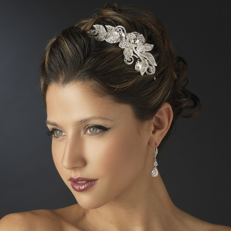 Flower Wedding Headpieces: Top 2013 Trends For Bridal Hair Accessories