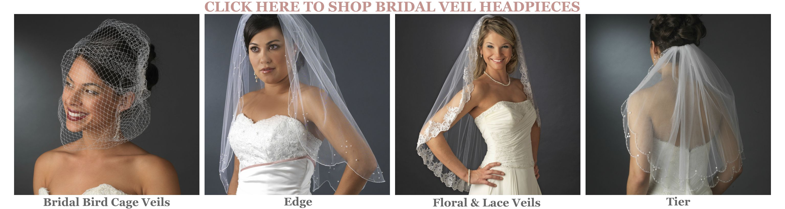 Bridal Veil Headpieces