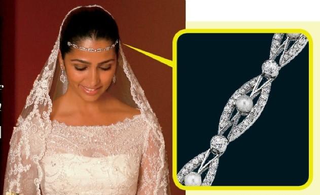 Bridal Head Chains
