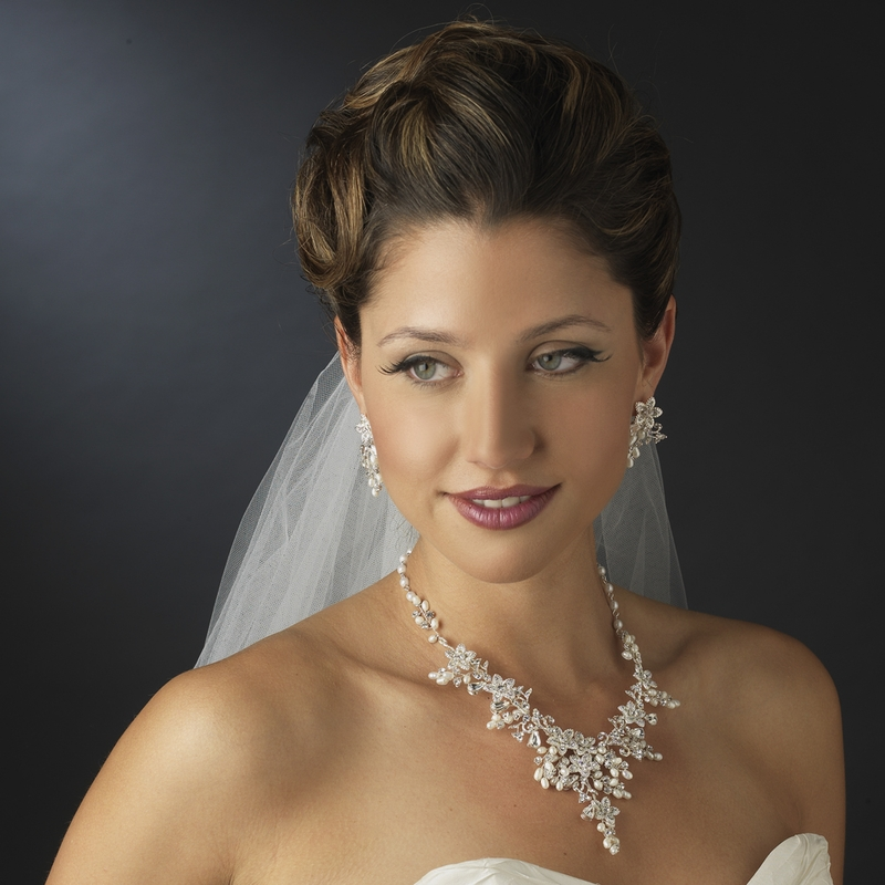 Floral Bridal Jewelry Sets