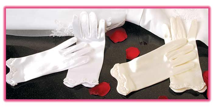 Childrens Wedding Gloves