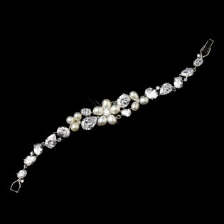Pearl Bridal Bracelet