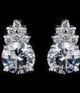 CZ Bridal Earrings
