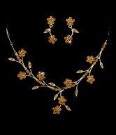 Beautiful Floral Bridal Jewelry Set