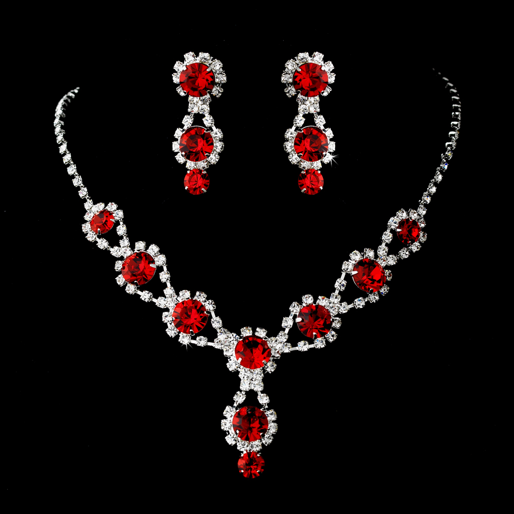 Bella Crystal Jewelry Set Elegant Bridal Hair Accessories