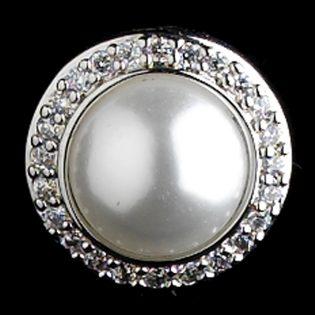 Bridal Pearl Stud Earrings