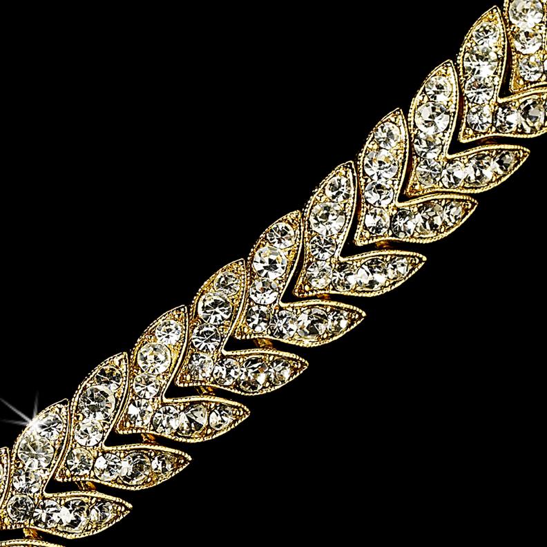 Rhinestone Bridal Bracelet