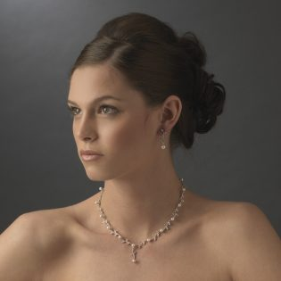 Pearl Bridal Jewelry Set