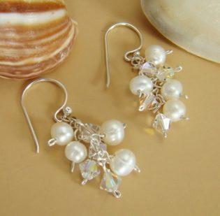 Swarovski Bridal Earrings