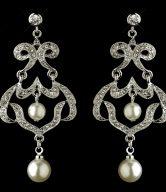 Pearl Wedding Earrings