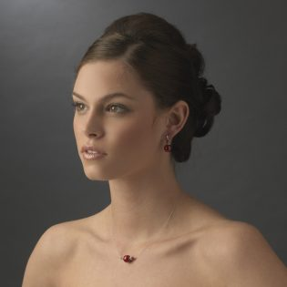 Pearl Rhinestone Bridal Jewelry