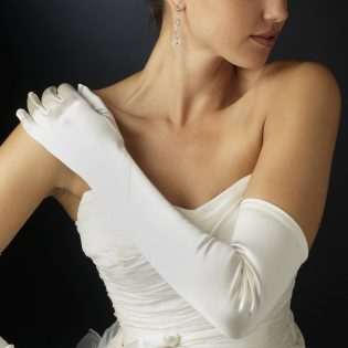 Opera Length Wedding Gloves