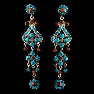 Antique Chandelier Earrings