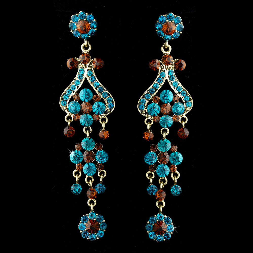 Paris Couture Antique Chandelier Earrings