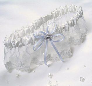 Rhinestone Bridal Garter