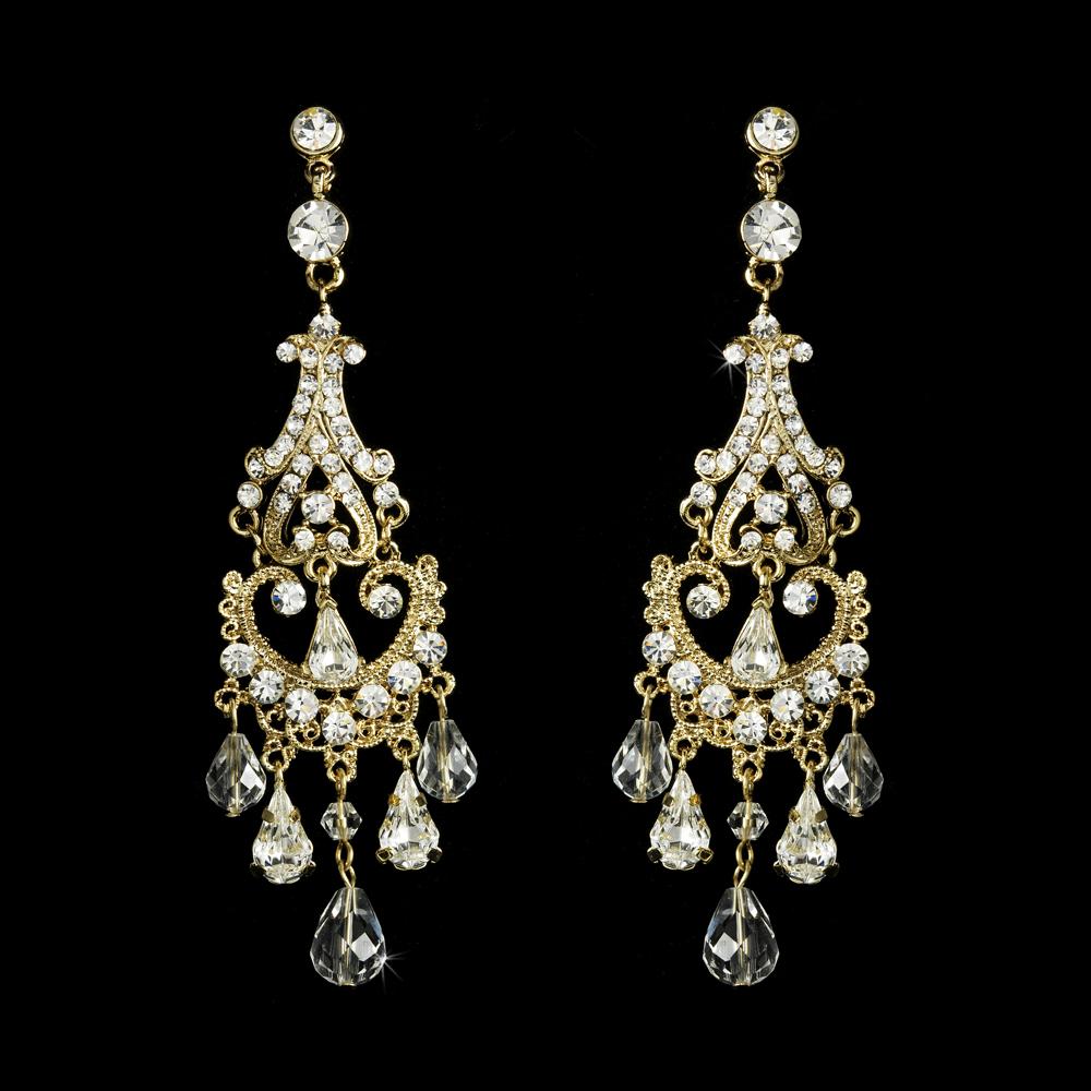8 chandelier bridal earrings every bride will love chandelier bridal earrings arubaitofo Images