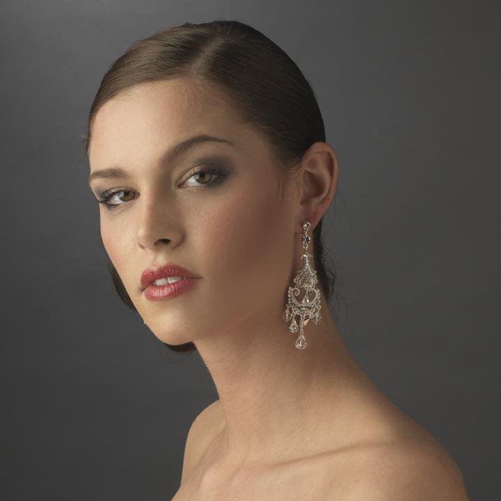 Vintage Wedding Chandelier Earrings