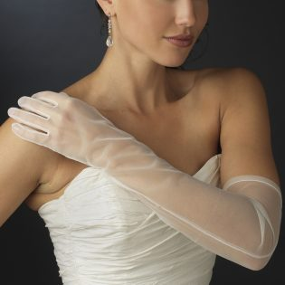 Full Wedding Gloves