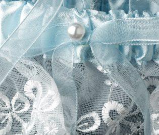 Blue Bridal Garter
